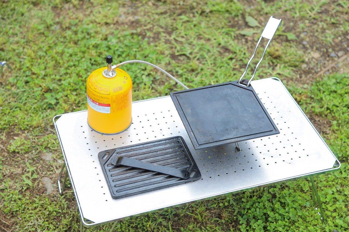キャンプ用 鉄板