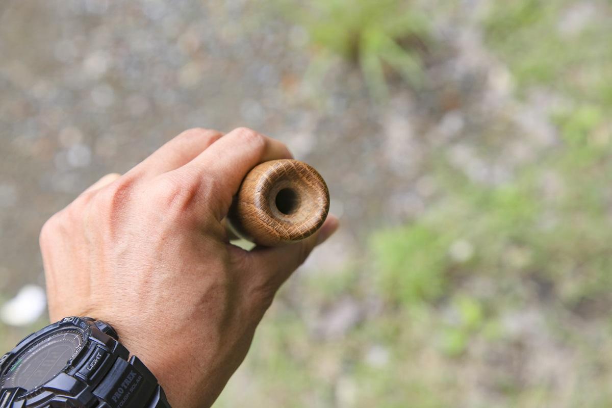 火が消えそうなときに活躍する火吹き棒(ファイアーブラスター)