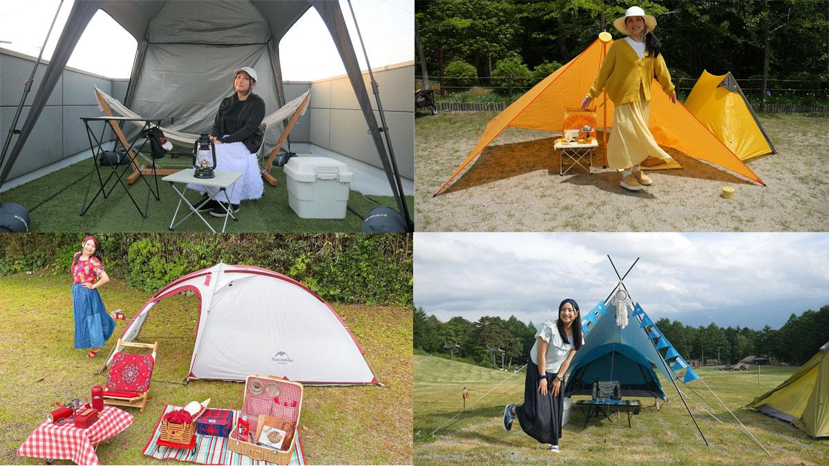 ソロキャンプも楽しむ