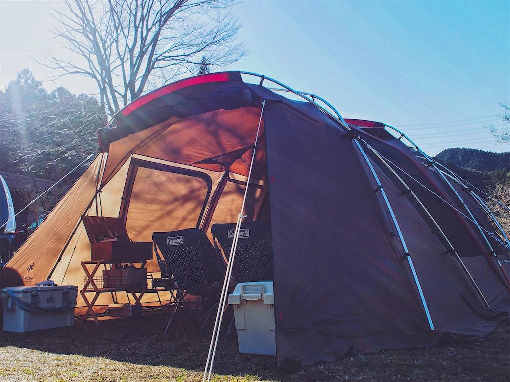 私のファミリーキャンプは「安心感」優先