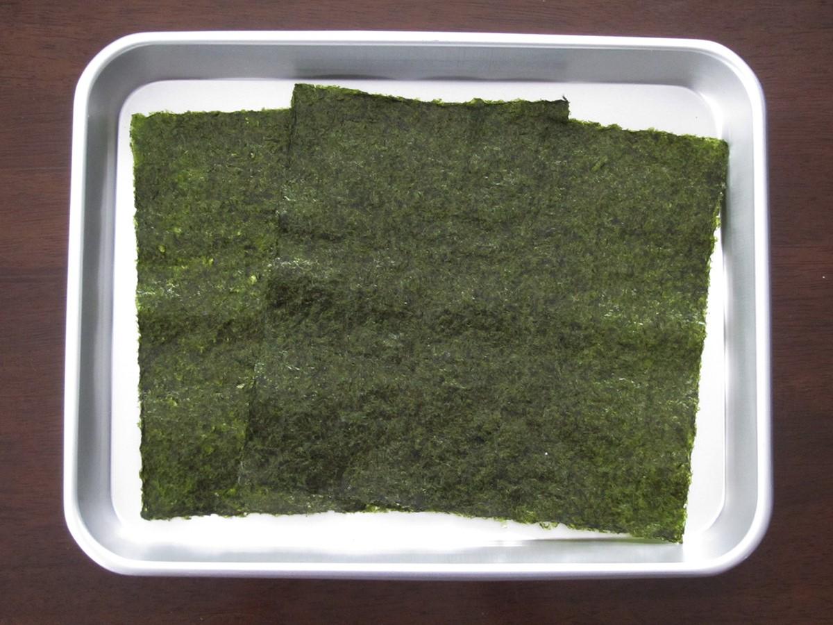 材料の海苔