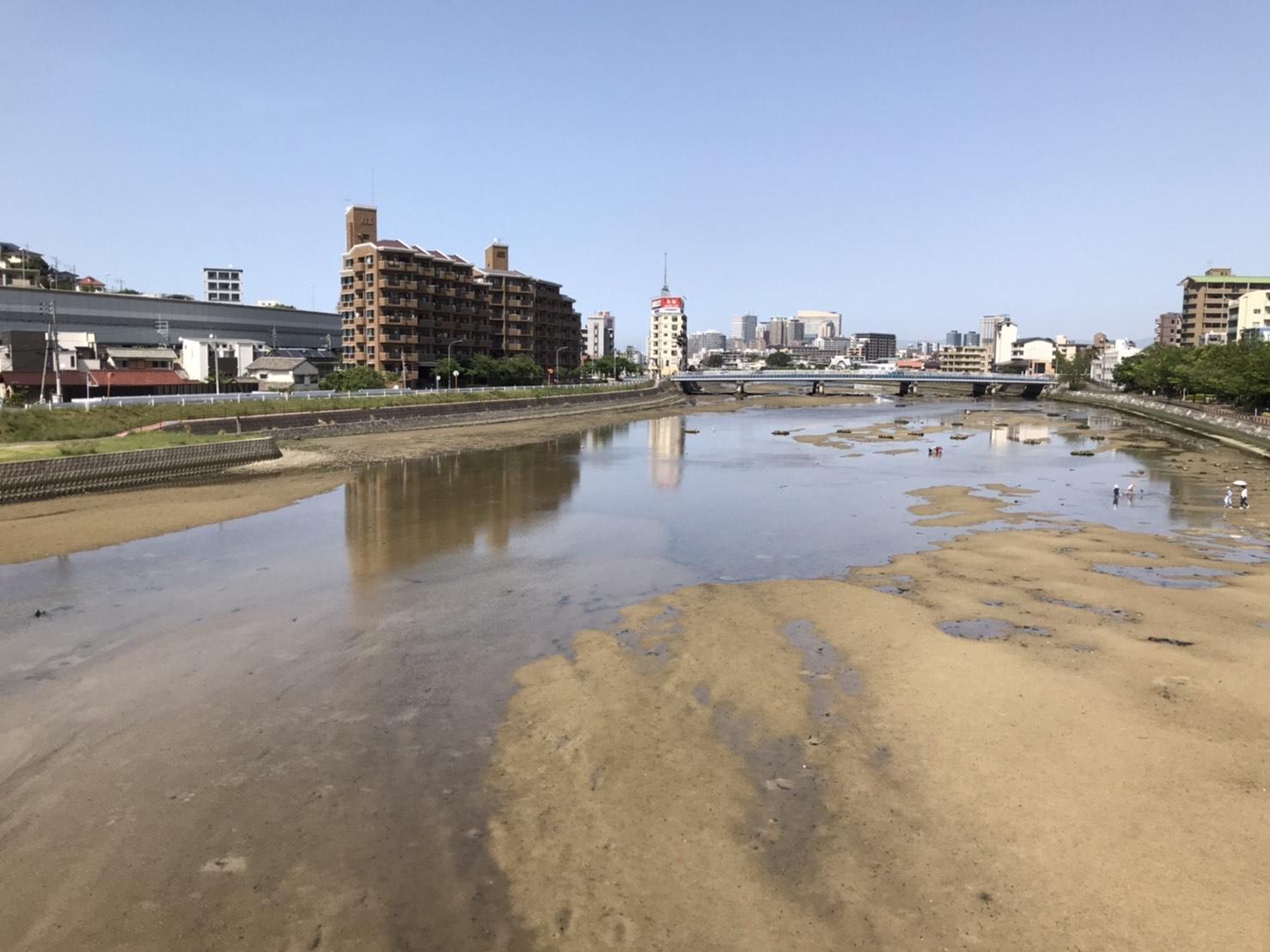福岡・室見川の写真