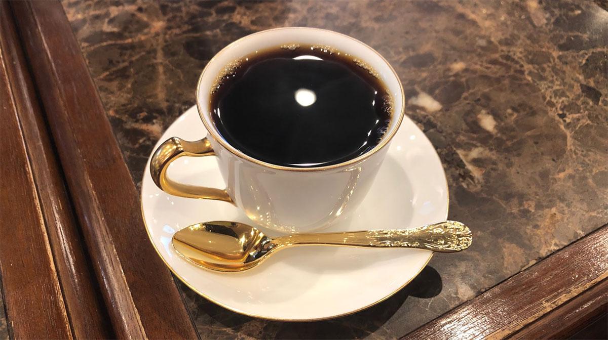 やめる直前に喫茶店で飲んだコーヒー