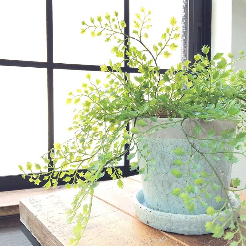観葉植物のように枯れる心配なし。在宅ワークの気分転換に「フェイクグリーン」がおすすめ