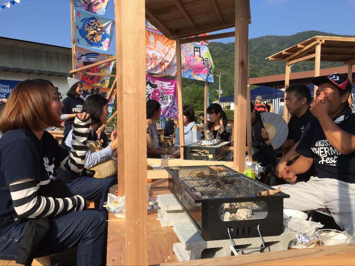 KOSHIKI FISHERMANS Festの様子