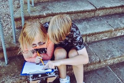 勉強 子供 2人
