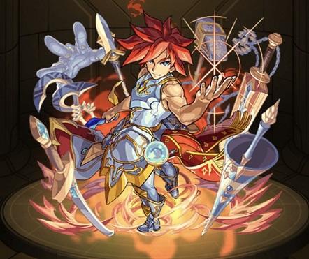 モンスターストライク ゲーム画面 キャラクター エクスカリバー神化