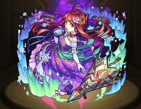 モンスターストライク ゲーム画面 キャラクター グングニルα