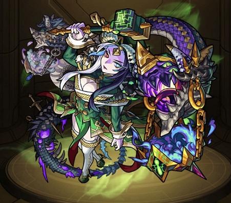 モンスターストライク ゲーム画面 キャラクター エスカトロジー