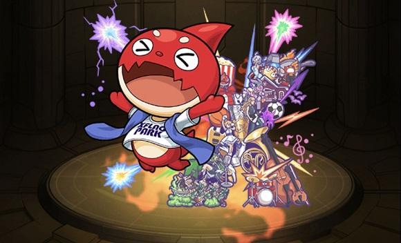 モンスターストライク ゲーム画面 キャラクター オラゴン