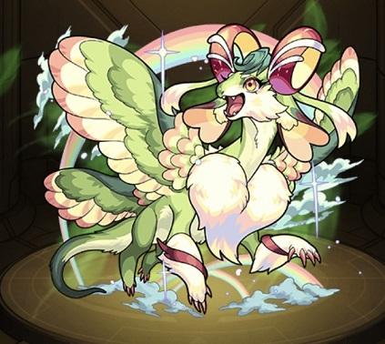 モンスターストライク ゲーム画面 キャラクター ミスサンクチュアリドラゴン