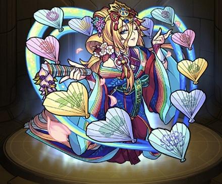 モンスターストライク ゲーム画面 キャラクター 光の姫君