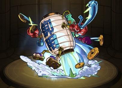 モンスターストライク ゲーム画面 キャラクター ZENIGATA