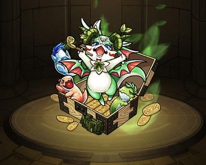 モンスターストライク ゲーム画面 キャラクター タカラゴン