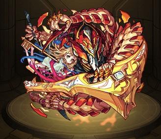 モンスターストライク ゲーム画面 キャラクター アヴァロン