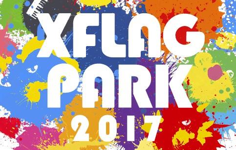 エックスフラッグパーク2017 ロゴ