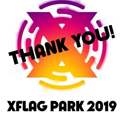 エックスフラッグパーク2019 ロゴ