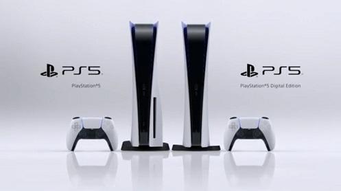 PlayStation5 本体 2機種 デザイン
