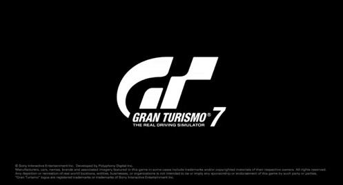 PlayStation5 グランツーリスモ7 タイトル ロゴ