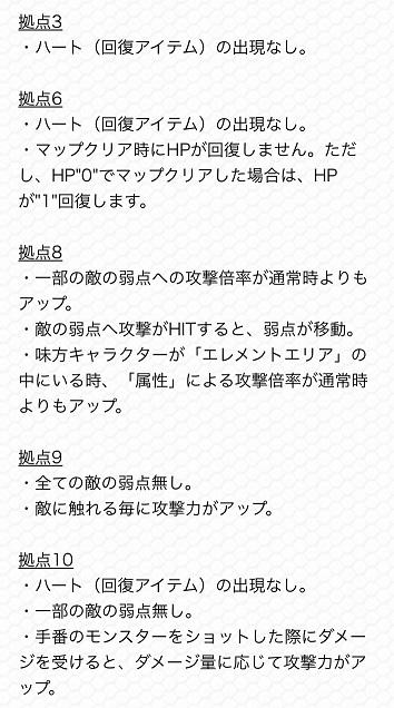 モンスターストライク 公式HP 未開の大地 ギミック 詳細