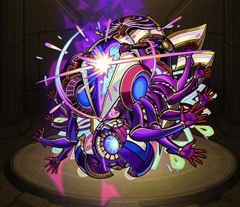 モンスターストライク ゲーム画面 轟絶 キャラクター アドゥブタ