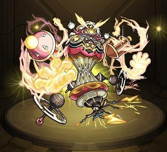モンスターストライク ゲーム画面 轟絶 キャラクター ラウドラ
