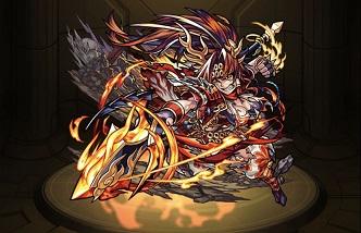 モンスターストライク ゲーム画面 キャラクター 真田幸村 獣神化