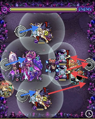 モンスターストライク 超絶 ヒヒイロカネ 攻略 ステージ3