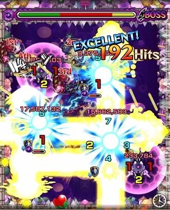 モンスターストライク 轟絶 マーチ 攻略 BATTLE 7 ステージ 7 BOSS 2 攻撃