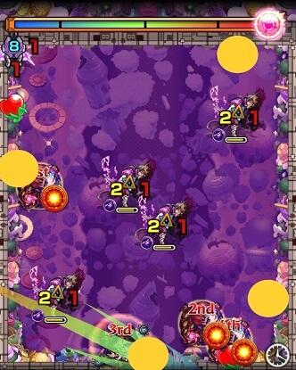 モンスターストライク 轟絶 マーチ 攻略 BATTLE 2 ステージ 2 パターン 1