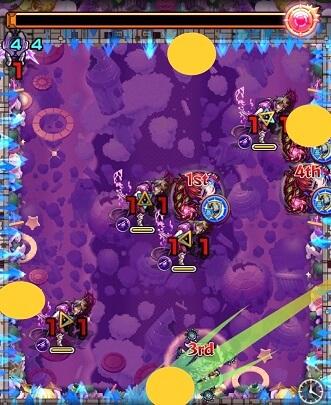 モンスターストライク 轟絶 マーチ 攻略 BATTLE 2 ステージ 2 パターン2