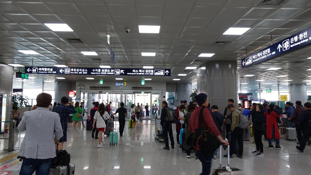韓国釜山へピーチで行く空港