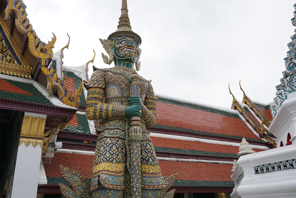 タイ旅行 ワットポー寺院