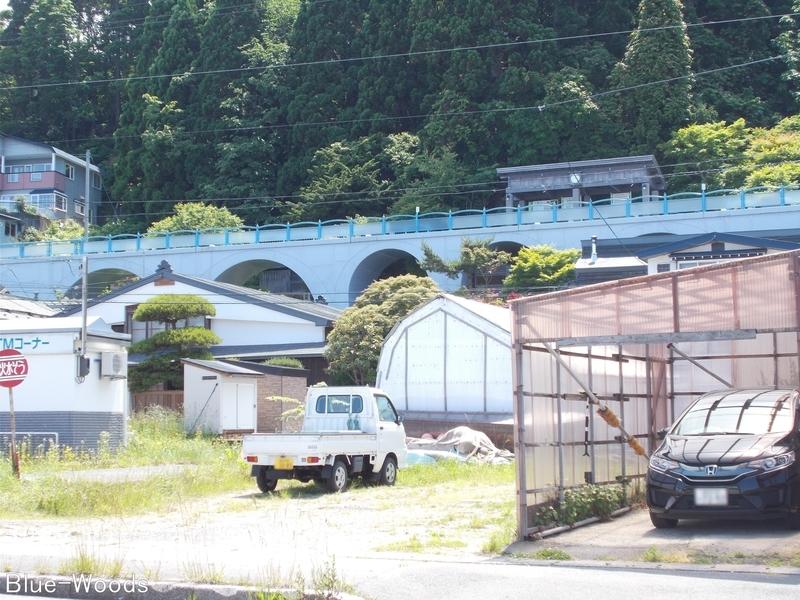 20170627 大間鉄道アーチ橋①(風間浦村下風呂)