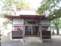 20180929 稲荷神社 拝殿(つがる市柏)