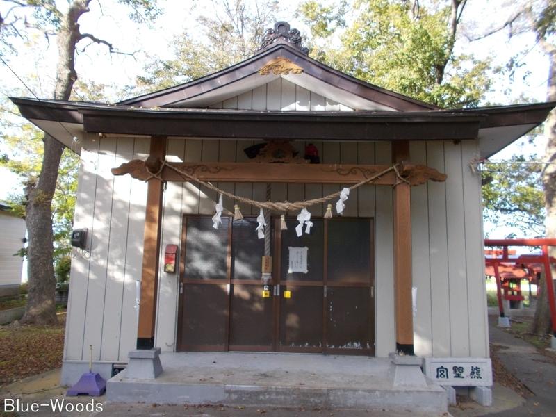 20181013 熊野宮 拝殿(中泊町中里)