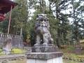 20181115 岩木山神社 狛犬(弘前市百沢)