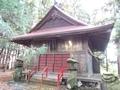 20181115 白山姫神社 拝殿(弘前市鳥井野)