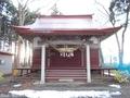20181202 三柱神社(五所川原市金木町)