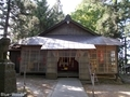 20190520 八幡宮 拝殿(弘前市石川)