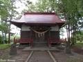 20190531 稲荷神社 拝殿(板柳町掛落林)