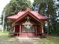 20190606 立野神社 拝殿(五所川原市金木町)