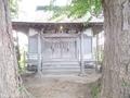 20190613 八幡宮 拝殿(鶴田町境)