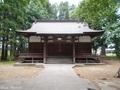 20190620 堰神社 拝殿(藤崎町藤崎)
