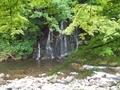 20190629 中野神社 不動の滝(黒石市南中野)