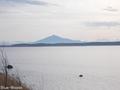 20191124 十三湖からの岩木山(五所川原市相内)