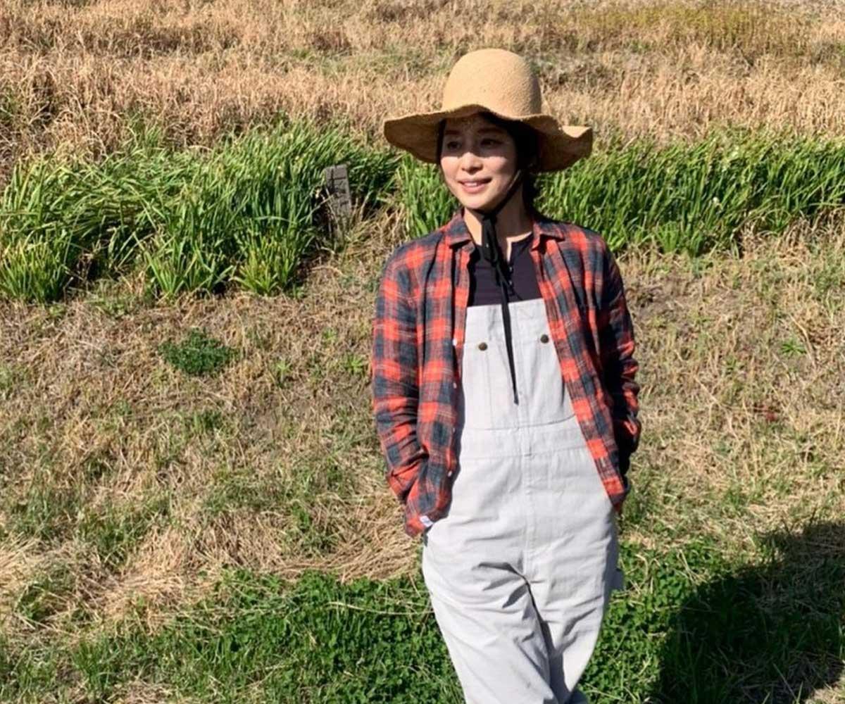 石田ゆり子さん(画像:Instagramより)