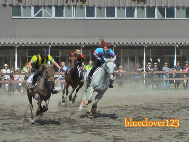 無料!本格的なレースを間近で!旭川乗馬倶楽部のホースショー_ブログ子育てママの日々役に立ちそうなちょっとしたこと_blueclover123