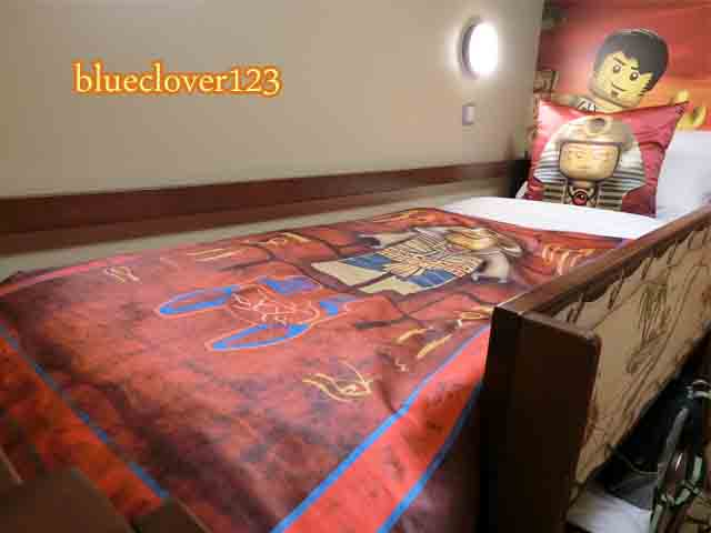 レゴランドのホテル子供は二段ベッド6_ブログ子育てママの日々役に立ちそうなちょっとしたこと_blueclover123
