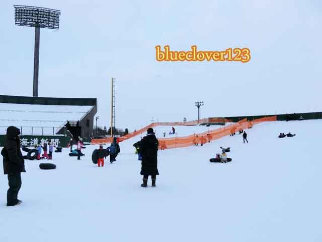 旅先でも手軽にウィンタースポーツ冬レジャーチューブ滑り02北海道旭川_ブログ子育てママの日々役に立ちそうなちょっとしたことblueclover123